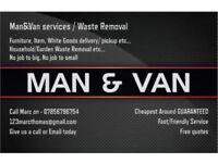 WASTE / RUBBISH REMOVALS, TIP RUNS, MAN & VAN SERVICES, ETC, CHEAPER THAN A SKIP