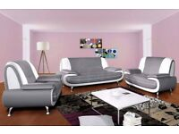 MERRY CHRISTMAS SOFA DEALS WITH DELIVERY INCLUDED UK WIDE**LIMITED EDITION **GREY AND WHITE**