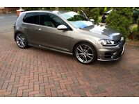 VW Golf R tsi car hire prestige