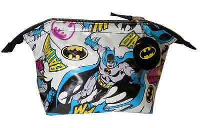 NEW OFFICIAL DC COMICS Ladies Batman Pop Art RETRO WASH / TOILETRY / MAKEUP BAG