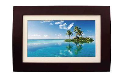 SYLVANIA SDPF1089 Digital Photo Frame Wood Finish 2GB w/ USB/SD & Remote