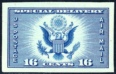 US SCOTT 771 SPECIAL DELI FARLEY 16 IMPERFORATE MNH NGAIFREE SHIP