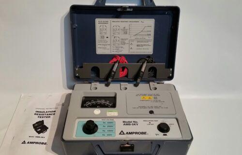 Amprobe AMB-5KV Insulation Resistance Tester 500-5000V