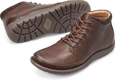 Men's Born Lace Up Comfortable Rugged Nigel Boot Brown H48306 ()
