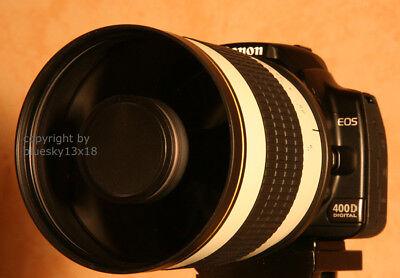 Teleobjektiv 500/1000 mm für Canon EOS 800d 77d 1300d 1200d 1100d 750d 760d 700d