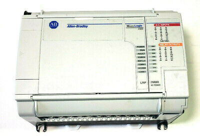 Allen Bradley 1764-24awa Micrologix 1500 Base With 1764-lrp Processor