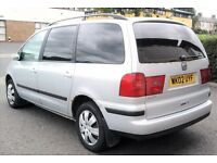 02 Seat Alhambra 1.9 Tdi 7 seater LONG MOT FULL SERVICE LONG MOT (GALAXY SHARAN PICNIC ZAFIRA)