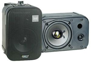 New - PYLE PDMN48 QUALITY SATELLITE SPEAKERS - IDEAL FOR HOME THEATRE APPLICATIONS