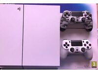 White PS 4, Sony Playstation 4