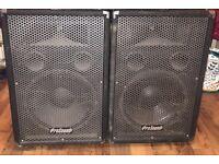 Pro sound pa speakers