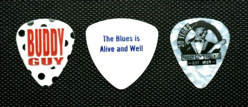 BUDDY GUY Polka Dot Guitar Pick / Legends / The Blue Is Alive And Well / 3 Picks