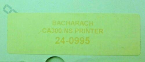 BACHARACH 24-0995 CA300 PRINTER NS