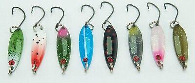 Forellenblinker Set - 2,0 Gr. - 8 Stück, Japanblinker, Spoon online kaufen