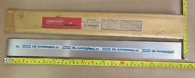 O1 Tool Sheet 316 X 1-34 X 18 Simonds Flat Ground Die Steel Oil Hardening