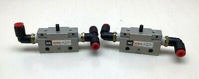 Lot Of 2 New Smc Nvm13 Pneumatic Switch D-578