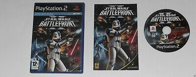 STAR WARS BATTLEFRONT 2 for PLAYSTATION 2 'ORIGINAL'