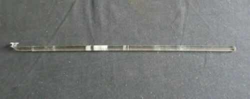 "Button Type 17 3/4"" Polished Glass Stirring Shaft Bar, 450mm x 10mm"