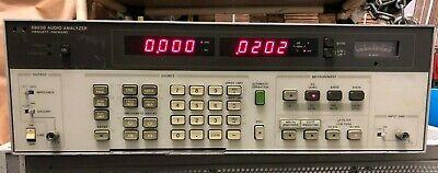 Hp 8903b Audio Analyzer With 400hz Ccitt Filters