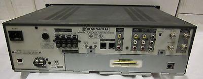 used  Chaparral Monterey 100c plus satellite receiver
