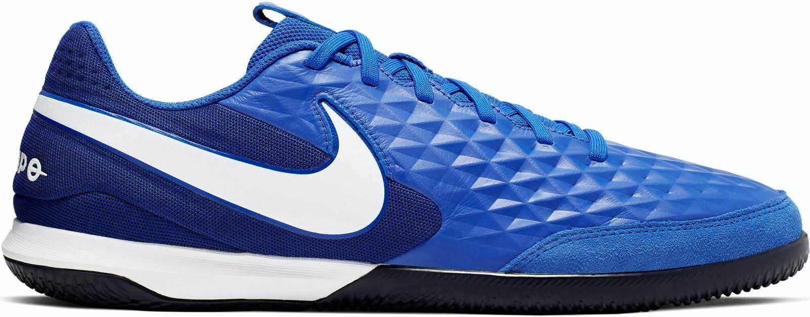 Nike Herren Hallenschuhe Fußballschuhe Legend 8 Academy IC Hallensport blau
