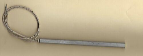 "FAST HEAT Cartridge Heater 1/4"" Dia X 5 1/4"" Long 350W 240V 12"" Fiberglass Leads"