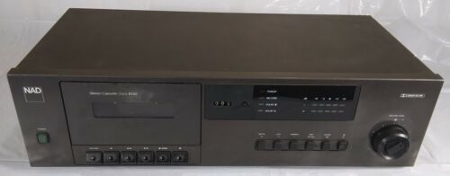 NAD 6130 Stereo Cassette Deck Tape Player Recorder Vintage