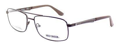 Harley Davidson HD0729 049 Men's Eyeglasses Frames 56-16-140 Dark Brown + CASE