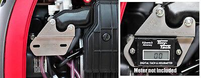 Tac-brac Stainless Hour Meter Bracket For Honda Generators For Tiny Tach Etc.