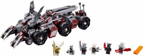 LEGO Chima Worriz Combat Lair 70009 NIB New