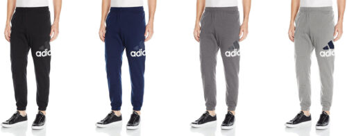 adidas Men's Essentials Performance Logo Pants, 4 Colors
