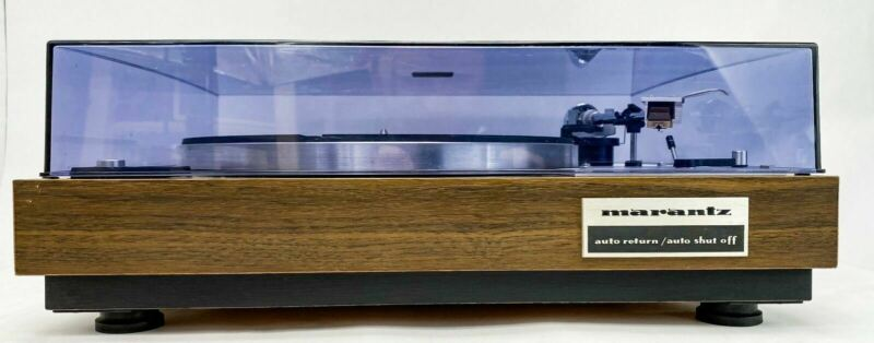 Marantz 6100 Turntable Shure M70B Cartridge and Stylus - Just Serviced -