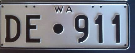 Porsche Licence plates Albany Albany Area Preview