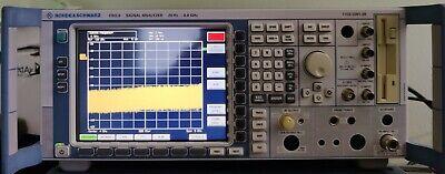 Rohde Schwarz Fsq8 Signal Analyzer 20hz - 8ghz Opt B10b71k70k91