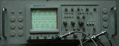 Tektronix 2445 150 Mhz Oscilloscope Calibrated Rack Mount Works Great