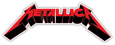Home Decoration - METALLICA  Sticker Decal  WALL *SIZES*  Vinyl Bumper Window