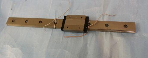 NSK Linear Slide Bearing 32cm Long Rail with 1 of LE12 Block