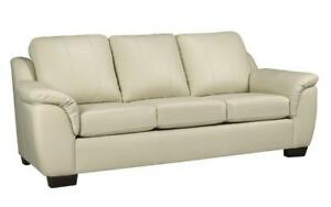 Canadian made leather sofa on sale (AC2013)
