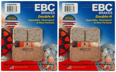 2 Packs - Enough for 2 Rotors EBC Double-H Sintered Metal Brake Pads FA379HH