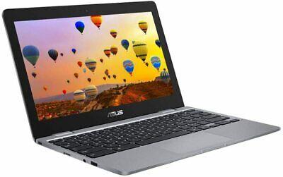 ASUS C223NA 11.6in grey Chromebook - Intel Celeron N3350 4GB RAM 32GB eMMC - Chr