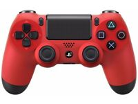 Genuine PS4 red controller. As new (~ 1h usage)