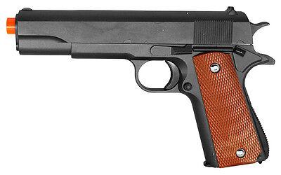 G13 Galaxy Airsoft Spring Action Pistol M1911 Colt 1911 Metal Gun (Colt 1911 Spring Pistol)