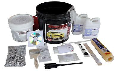 Epoxy Floor Coating System - 1 Car Garage Kit