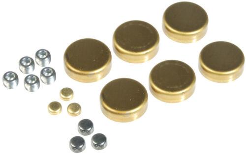 Elgin Engine Expansion Plug Kit EP113BR; Brass for Chrysler 318//340//360 LA Mopar