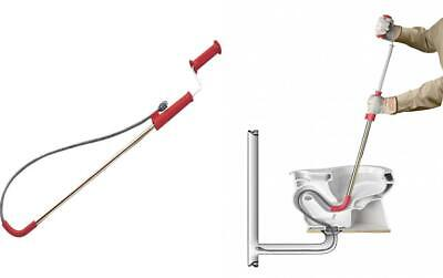 Ridgid 59787 K-3 Toilet Auger 3-foot Auger Snake With Bulb Head To Clear...