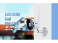 2018 Latest HD 1080P IP Camera Wireless Wifi Bullet Security Camera