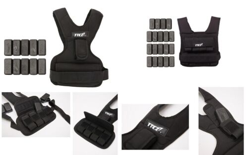 Adjustable Weighted Weight Vest Training Workout Strength Exercise Boxing