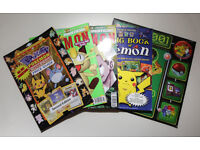3 POKEMON MAGAZINES, POJO'S UNOFFICIAL BIG BOOK OF POKEMON AND 2001 16 MONTH CAL