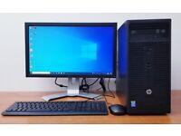 Complete HP PC Computer Windows 10, Intel Pentium, 6GB RAM,500GB HDD, Wifi, Office