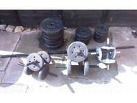 weights and dumbbells sets