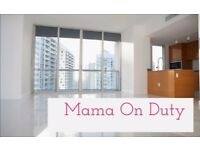 Mama On Duty Cleaning Services! End of Tenancy, end of Parties & etc. Professional and Excellent.